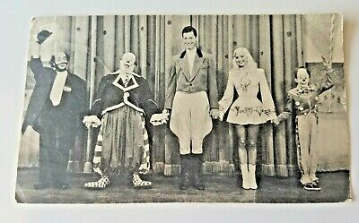 SUPER CIRCUS CAST with MARY HARTLINE, ABC TV, Chicago - Autographed