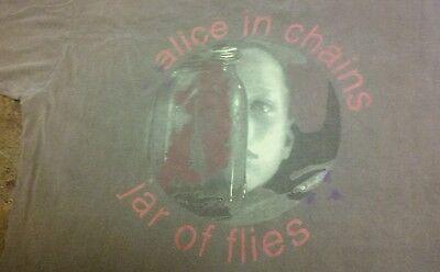 Vintage Alice In Chains Jar Of Flies Shirt XL Soundgarden Nirvana
