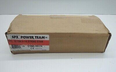 Spx Power Team C106c-ss174 Model B 10 Ton 6-18 Stroke Stain Cylinder