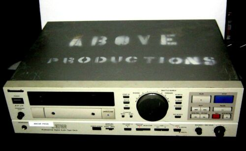 RARE Panasonic SV-3700 Professional DAT Recorder/Dynamic Range, Instrumentation!