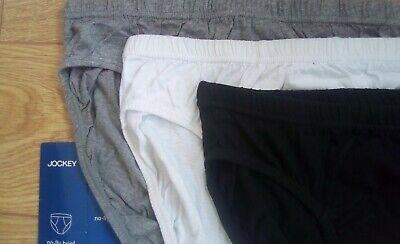 "NEW Men's JOCKEY No fly Briefs  Cotton  Comfort  Small 30"" - 32""  NEW"