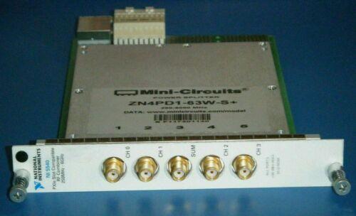 NI 5540 RF Splitter/Combiner 4 Way-0° 50Ω 250MHz-6GHz National Instruments