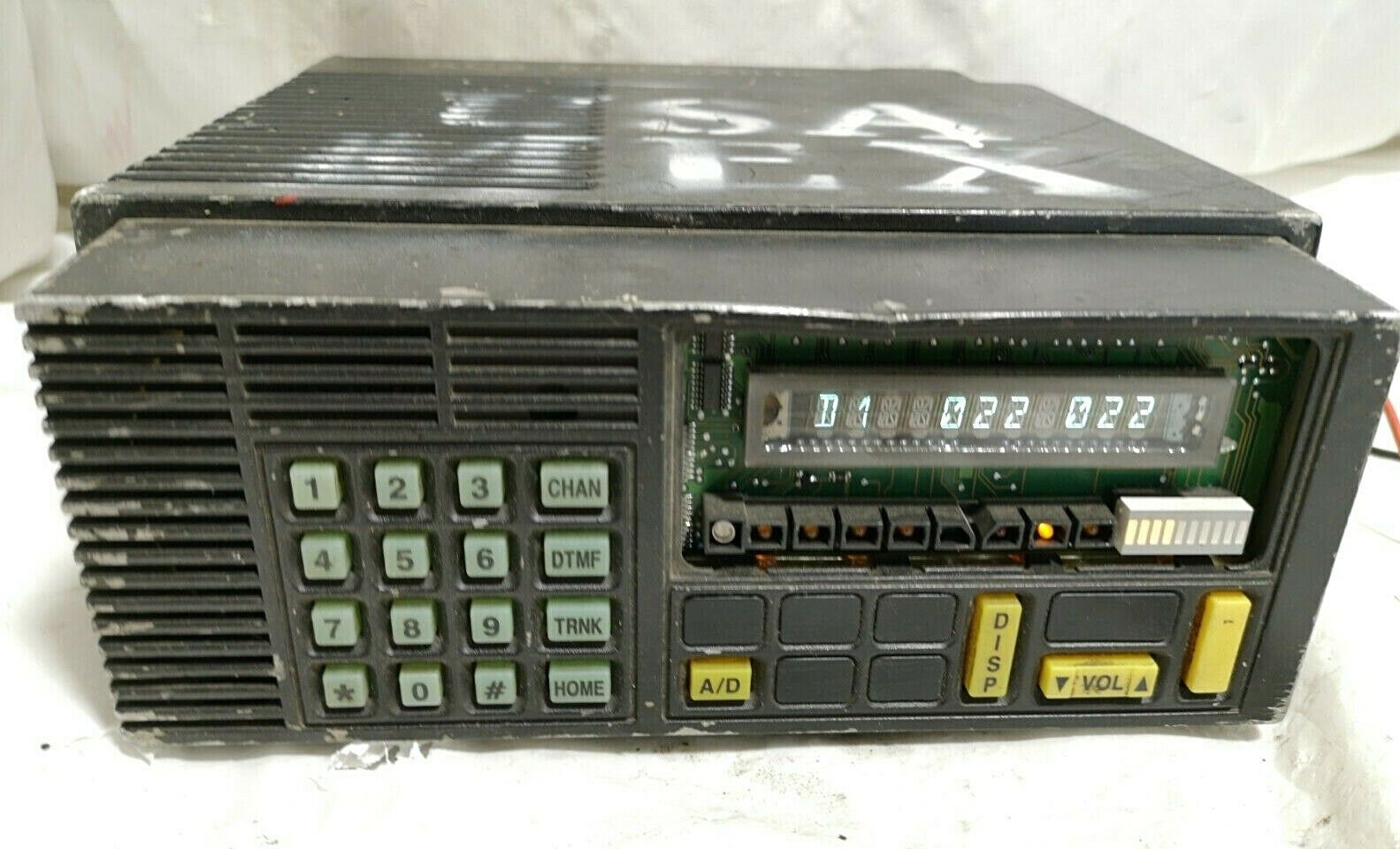 MOTOROLA RADIO RAILROAD HEAVY DUTY R04KKH9PW9AN Or MBR43KME1170AD MISSING COVER - $224.99