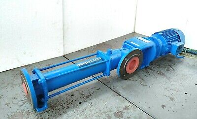 Seepex Bn 5-6l Progressive Cavity Pump With 1.5 Kw Electric Motor - Tested Pump