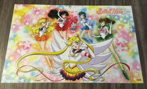 SAILOR MOON Sailor Stars Part 2 NYCC 2019 COMIC CON VIZ EXCLUSIVE ANIME POSTER