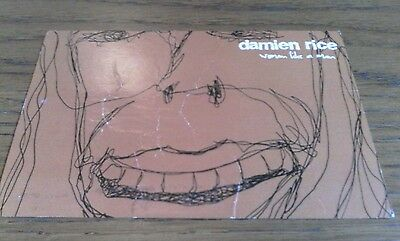 Damien Rice 'A Woman Like A Man' E.P Promo Mailing List Postcard 2003 Used RARE