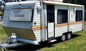 WINDSOR 19ft CARAVAN, DBL BED, ROLL OUT AWNING, ANNEXE, AIRCON Burpengary Caboolture Area Preview