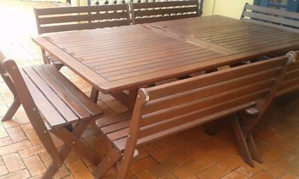 Jenson Jarrah Outdoor Setting Dining Furniture Gumtree Australia Manly Area Balgowlah 1196746101