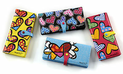 Romero Britto 4 Long Heart Wallets Choose One Or More Items