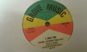 Vivian Jackson , I Love You , Jah Baba , Hold My Hand , 7
