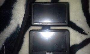 Two Garmin GPS'