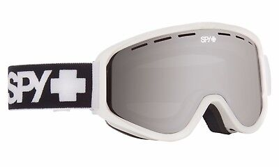 888be17eb97d BRAND NEW Spy Optic WOOT MATTE WHITE Snowboard Ski Goggle BRONZE SILVER LENS