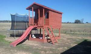 2 Story Wooden Cubby House Axedale Bendigo Surrounds Preview
