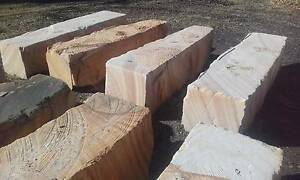 Sandstone Blocks. Stone. Retaining wall. Garden edging Terrigal Gosford Area Preview
