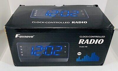 Foxnovo Digital Alarm Clock-Controlled Radio Model:H8 Free Shipping