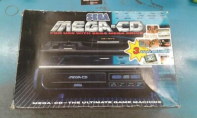 SEGA MEGA CD PAL CON SCATOLA E MANUALI