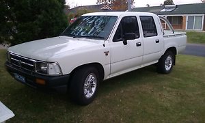 Toyota daul cab ute Muswellbrook Muswellbrook Area Preview