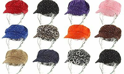Rhinestone Newsboy Ivy Gatsby Cap Glitter Sequin  Bling Women Summer Hat654-665](Sequin Hats)