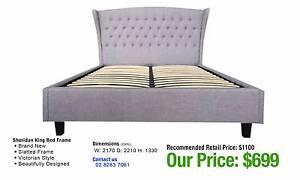 ON SALE! HALF PRICE BEDS 50% OFF BRAND NEW FRAMES & MATTRESSES +