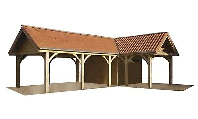 Carport Plans DIY Outdoor Canopy Car Shelter Gazebo Garage 12'x20' Build Your... for sale  Shipping to South Africa
