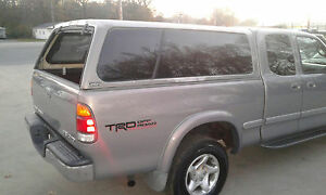 fiberglass truck topper | ebay
