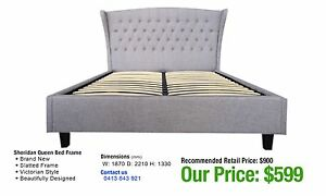 BED FRAMES - up to 80% OFF RRP Leumeah Campbelltown Area Preview
