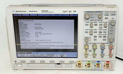 Agilent Keysight Msox7034b Dso7034b Infiniivision Mixed Signal Oscilloscope