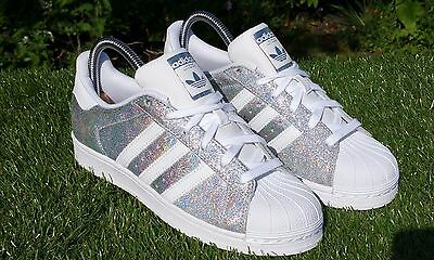 BNWB & RARE Adidas Originals Superstar W Hologram Iridescent Trainers UK Size 9