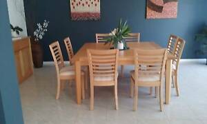 Dining Setting - Table and 8 chairs Tumbi Umbi Wyong Area Preview