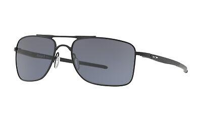 Oakley Gauge 8 L Sunglasses Matte Black Frame Grey Lens OO4124-0162