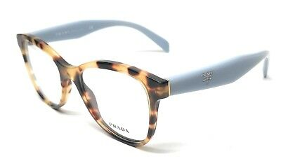 66b2c6f8ed8d NEW PRADA VPR 12T 7S0-1O1 MEDIUM HAVANA EYEGLASSES AUTHENTIC FRAME ITALY  51-17
