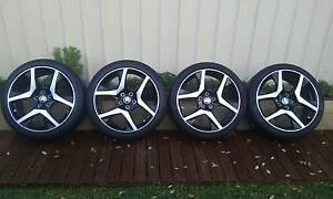 HSV, VF Clubsport R8 Factory Wheels + Tyres Warnbro Rockingham Area Preview