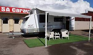 2010 JAYCO STERLING OUTBACK with SHOWER/TOILET Hampstead Gardens Port Adelaide Area Preview