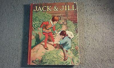 VINTAGE JACK & JILL BOOK(HC), ILLUSTRATIONS BY JOHN HASSALL...