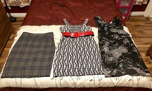 Lot (8 pcs) of Women's Office Clothing (dresses, skirts & tops)