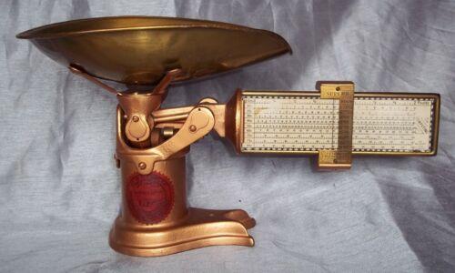 Reconditioned Antique Superior Pelouze Scales