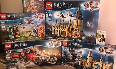 LEGO Harry Potter Hogwarts/HogwartsExpress/WhompingWillow/Quidditch/Aragogs/Wand
