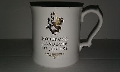HONG KONG Handover 1997 The Peninsula Mug