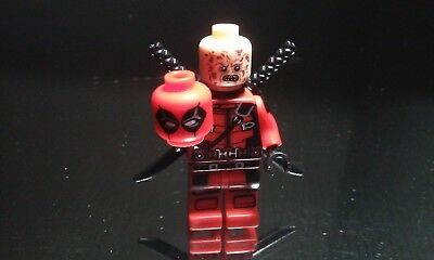 Marvel Unmasked Deadpool Wade Wilson Super heroes Figure New