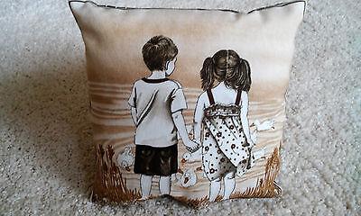 Kissen Kinder Freundschaft Freunde Herz mehrere Designs Kinderkissen 18 x 18