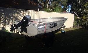 TINNIE,Mercury Outboard and Trailor Coombabah Gold Coast North Preview