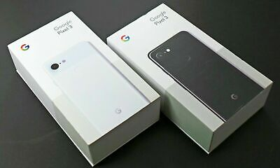 NEW Google Pixel 3 Factory Unlocked 64GB Smartphone Android 9 3D 12MP 3G 4G LTE -