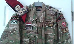 Syrian Army reissue multicam camouflage uniform camo uniform bdu  set new