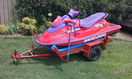 2stroke seadoo and trailer