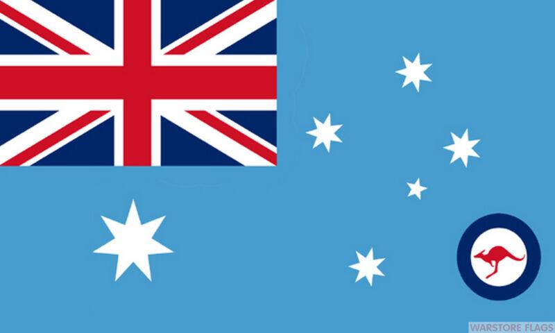 ROYAL AUSTRALIAN AIR FORCE RAAF FLAG 3X2 feet 90cm x 60cm FLAGS RAF AUSTRALIA
