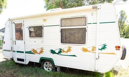 2007 Golden Eagle Grande Tourer Caravan 20ft Heatherbrae Port Stephens Area Preview