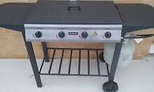Jumbuck 4 Burner Flat Top BBQ With Grill Woolwich Hunters Hill Area Preview