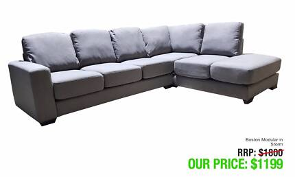 LARGE CHAISE SOFAS - LOT'S OF STYLES - GREAT VALUE!