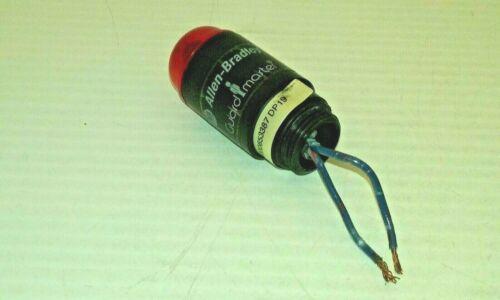 ALLEN BRADLEY 440A-A19007 GUARDMASTER INDICATOR LIGHT LED RED LENS