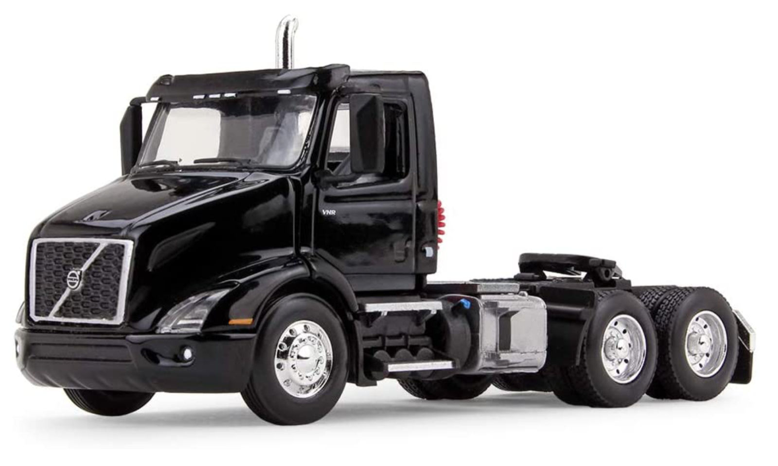 First Gear 60-0369 Volvo VNR 300 Black Day Cab Diecast Metal 1/64 Scale DCP